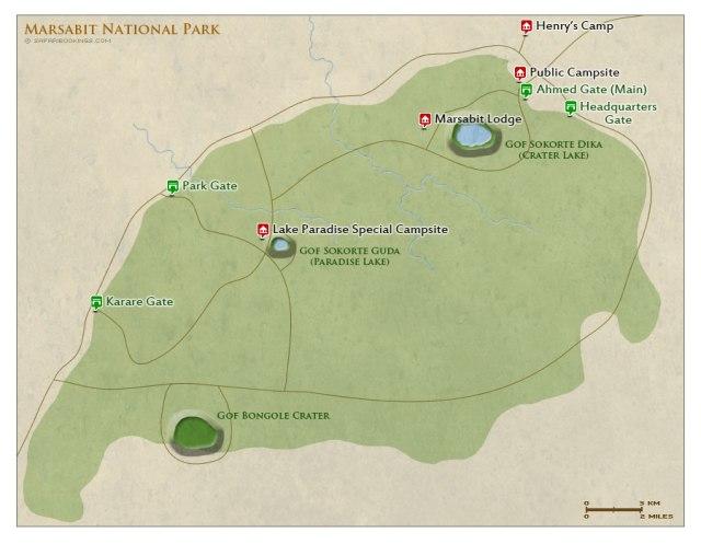 map-of-Marsabit-National-Park